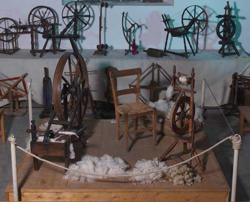 les rouets du musee