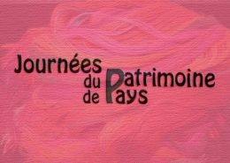 affiche des journees du patrimoine de pays en juin au musee du textile