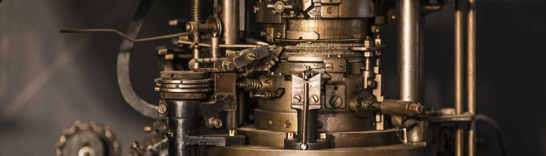 rouages d une machine du musee
